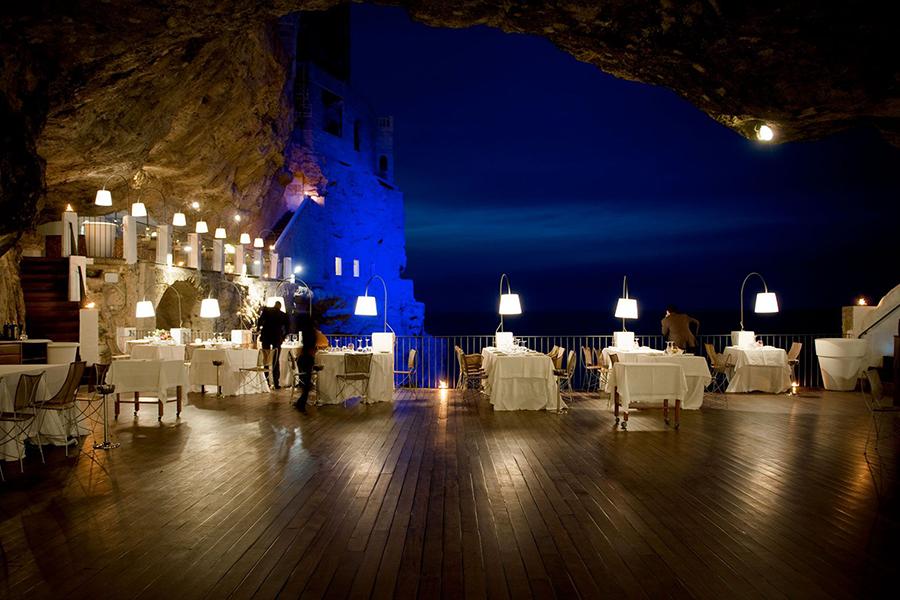 Migliori ristoranti romantici polignano a mare