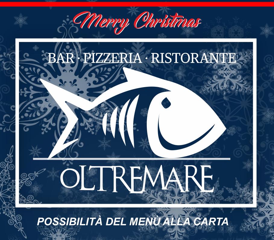 Cenone di San Silvestro ristorante Oltremare Ravenna