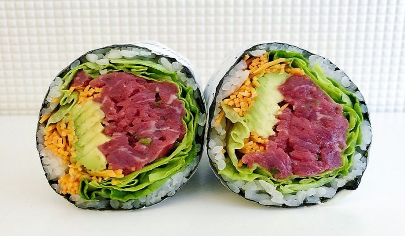 Fusho: il sushi burrito a Milano