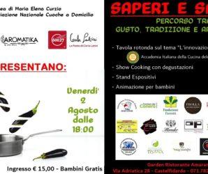 Debutta 'Saperi e Sapori', il 2 Agosto nel Giardino del Ristorante Amaranto's