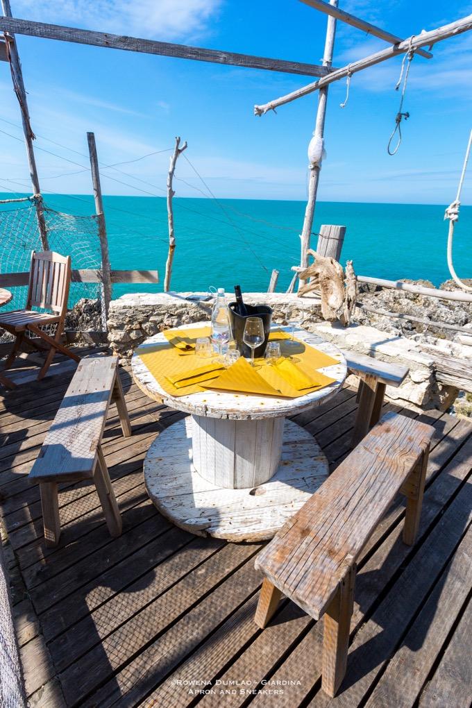 Peschici - ristoranti dove bere e mangiare all'aperto